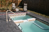 Cyberlane Fiberglass Pool and Spa in Ben Lomond, AR