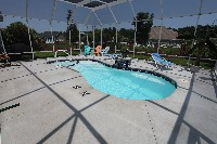 Mandalay Bay Fiberglass Pool and Spa in Martinsville, VA