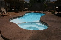 Mandalay Bay Fiberglass Pool and Spa in Pembroke, KY