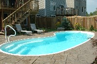Seaside Fiberglass Pool in East Vandergrift, PA